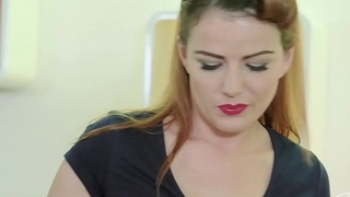 PINUP SEX - Hot classy fuck with superb pinup Czech chick Samantha Joons