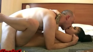 Intimate sex with Aysha in homemade and exclusive porn video for xvideos
