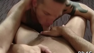 Undressed gays enjoying the best anal in bedroom private scenes
