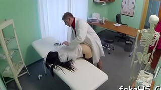 Soaked slit be advisable for a seductive doctor gets annihilated mercilessly