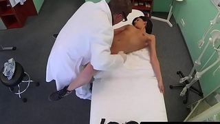 Real eurobabe fucked by her doctor