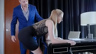 Sexy Secretary Trained To Obey Kinky VIP Nasty Commands