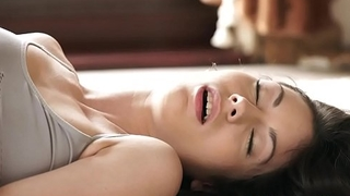 Petite eurobabe pounded after yoga