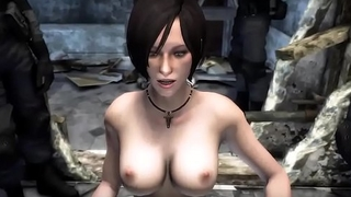 Ada-Wong-gets-Spooked - Best Free 3D Cartoon